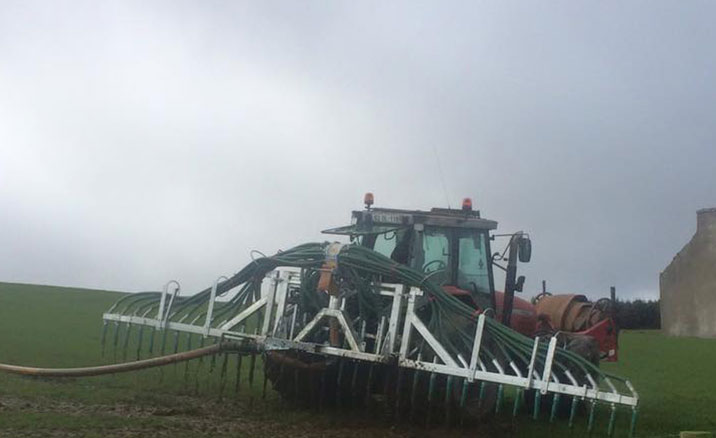 Slurry spreading Donegal